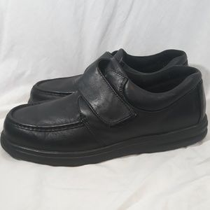 Hush Puppies Mens Black Loafers 13 Wide